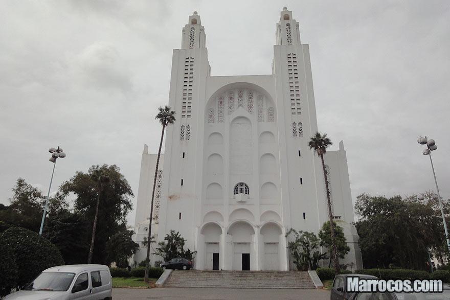 Catedral de Casablanca em Marrocos