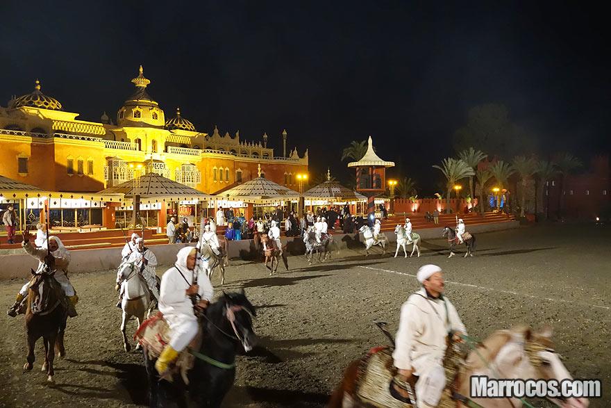 O espectáculo Chez Ali Marrakech