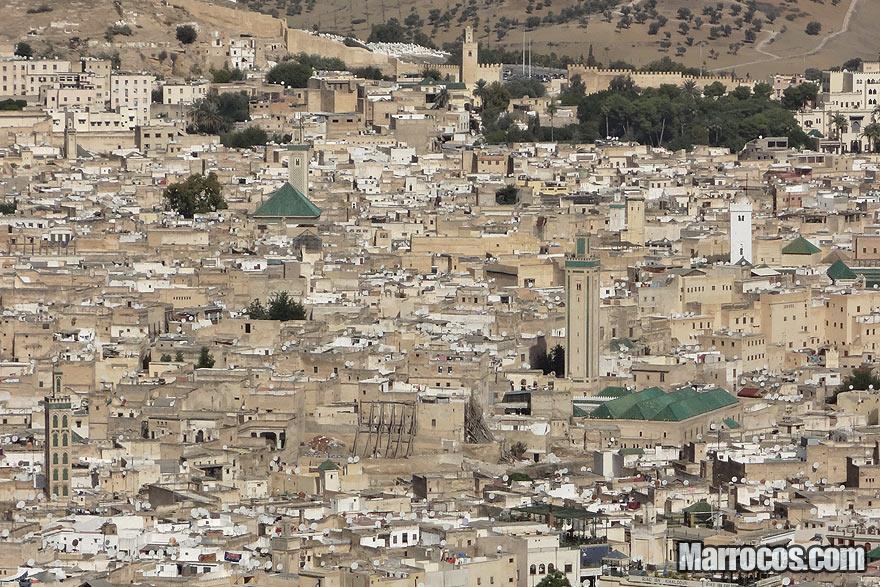 Medina de Fez em Marrocos
