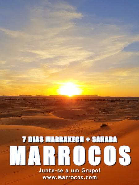 7 dias em Marrocos 430€ - Marrakech até Deserto do Saara