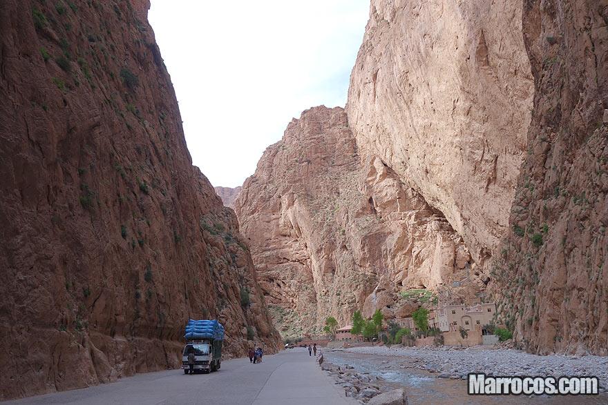 Gorges du Todra em Marrocos