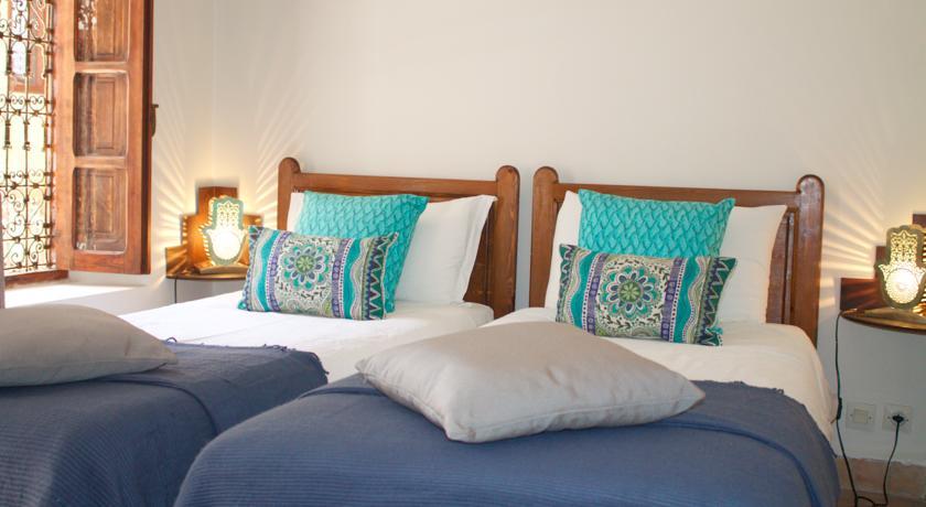 Hotel Riad na cidade de Marraquexe