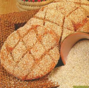 Receita de Pão de Cevada marroquino