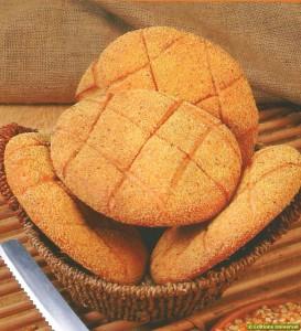 Receita de Pão de Milho marroquino