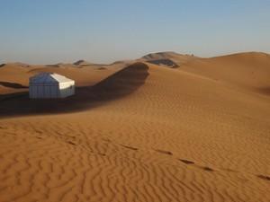 Dunas de Erg Chigaga em Marrocos