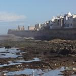 Muralhas da medina antiga de Essaouira Marrocos