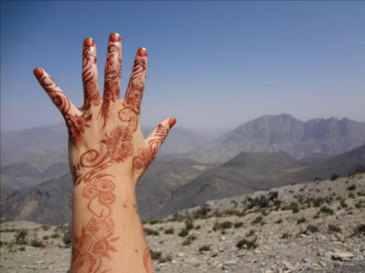 Tatuagem De Henna Na Mao