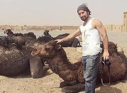 João Leitão em Marrocos