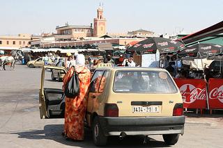 Taxis Em Marrocos