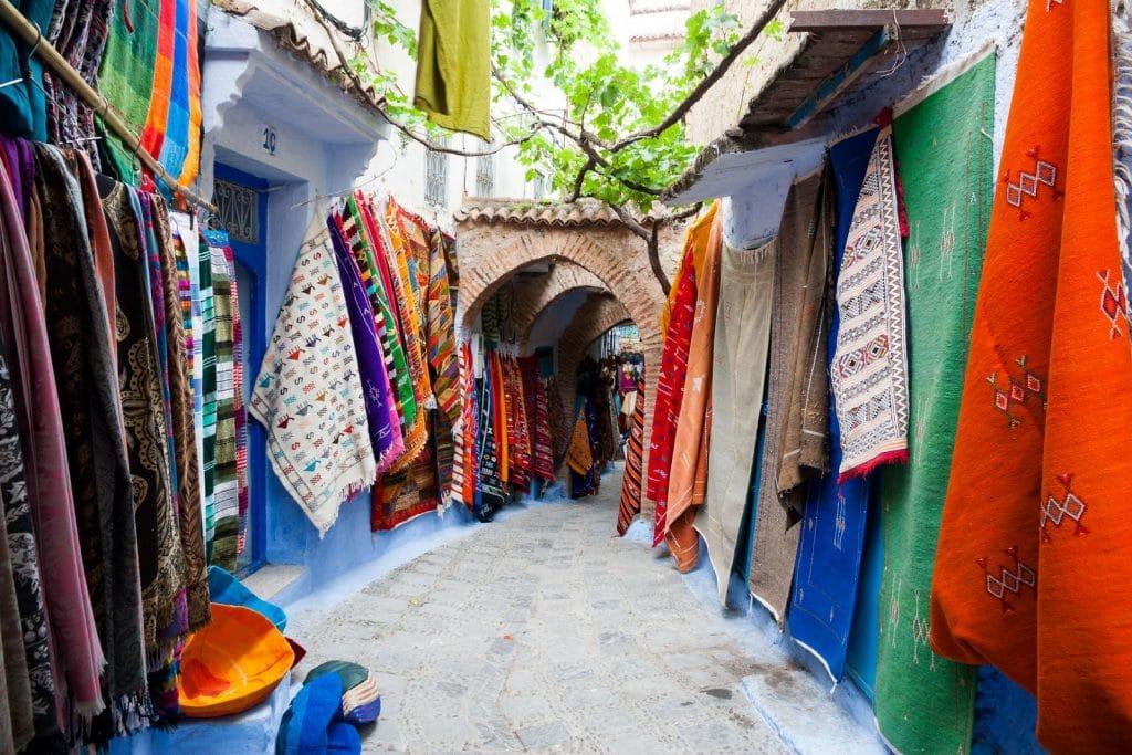 O artesanato marroquino