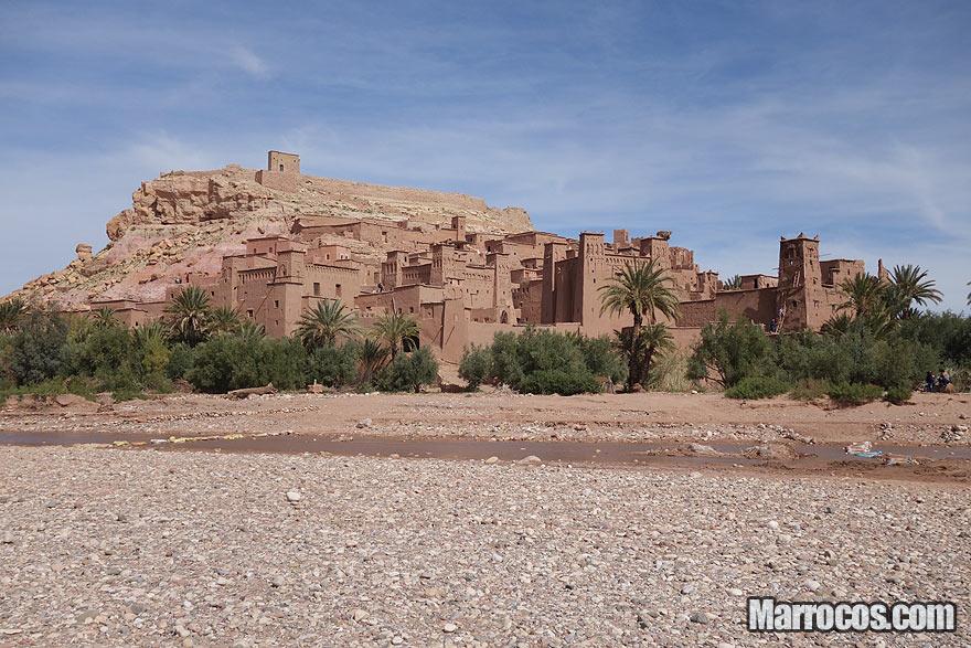 Ksar de Ait Benhaddou em Marrocos