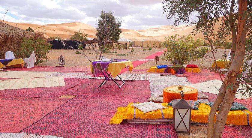 Hotel Auberge du Sud (ou idêntico) nas dunas de Erg Chebbi