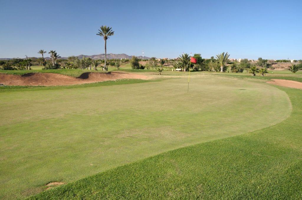 Campo de golfe em Marrocos