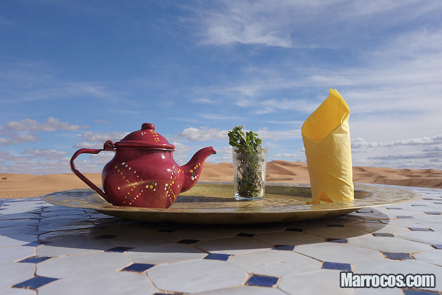 Chá de Marrocos