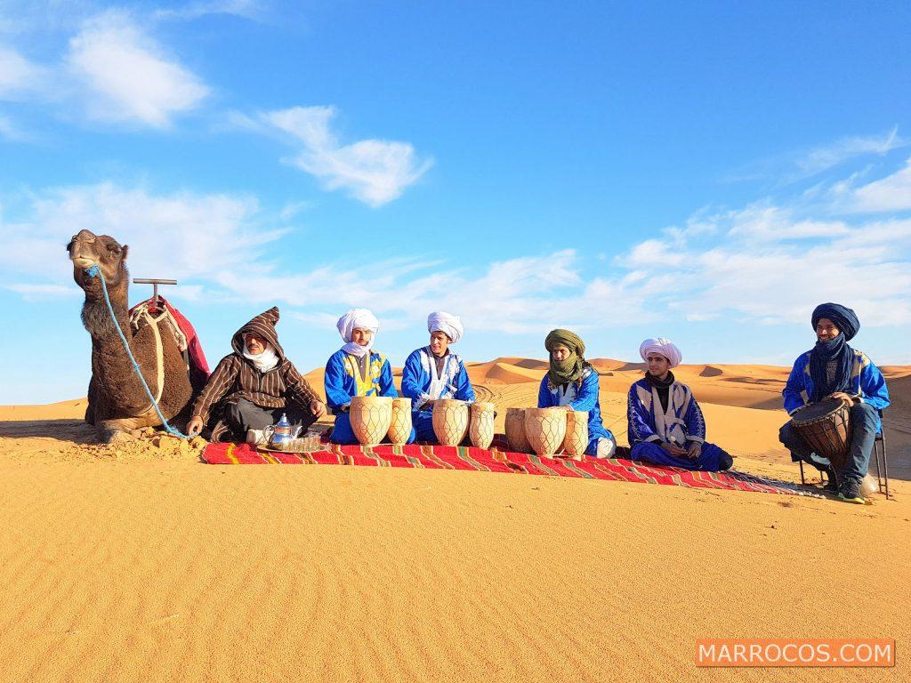 7 dias 430€ » Grupo Viagem Marrocos: Marrakech + Deserto