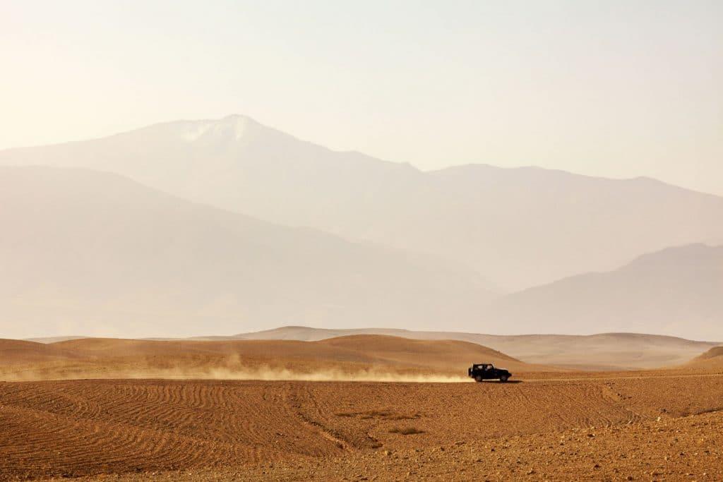 Deserto de Agafay em Marrocos