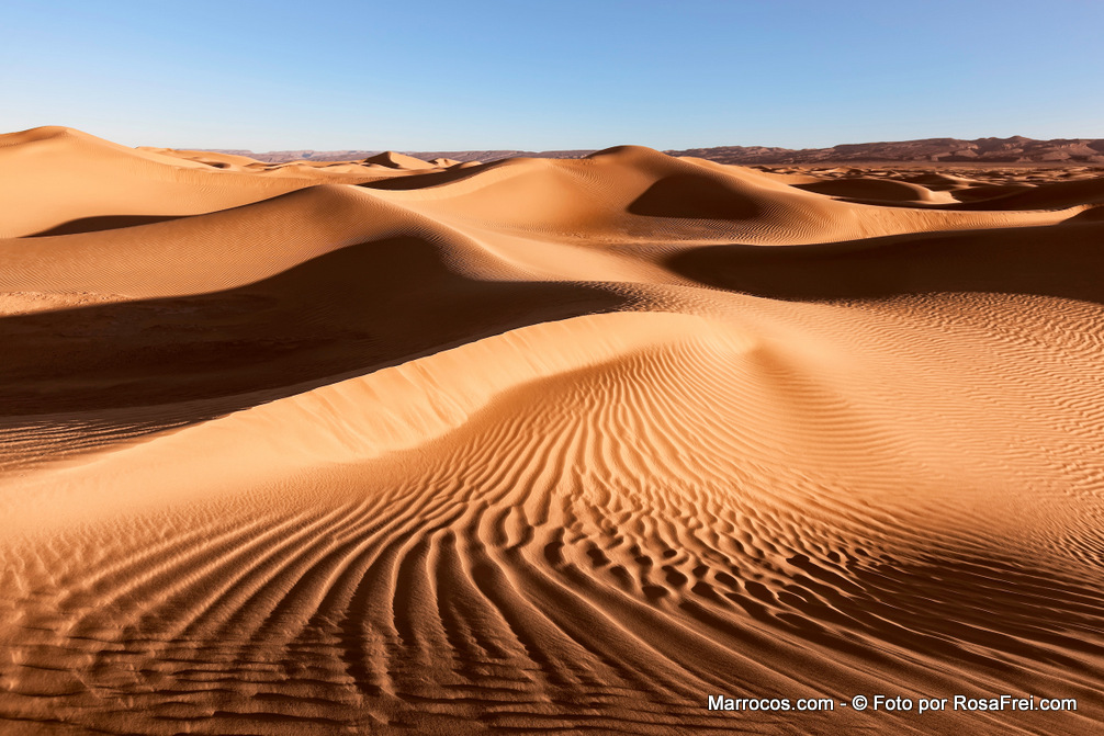 O Deserto do Saara em Marrocos