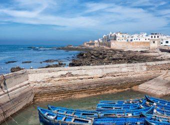 Cidade de Essaouira em Marrocos