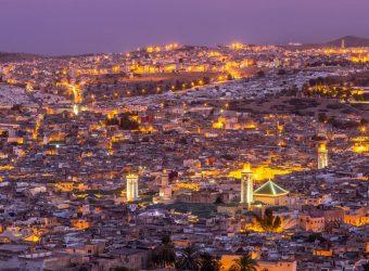Cidade de Fez em Marrocos