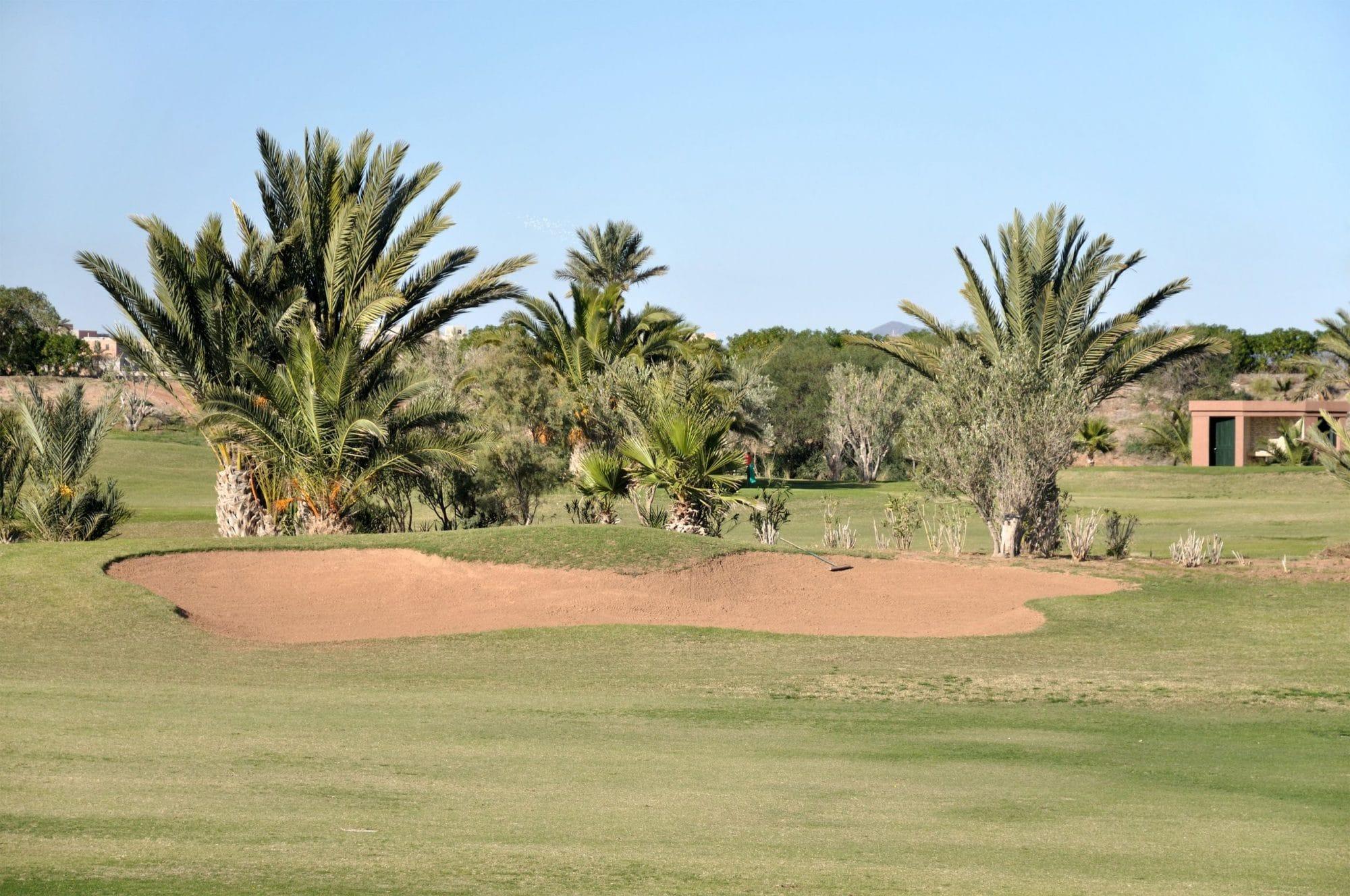 Golfe em Marrocos