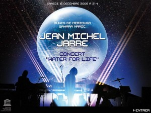 Concerto Jean Michel Jarre Water for Life