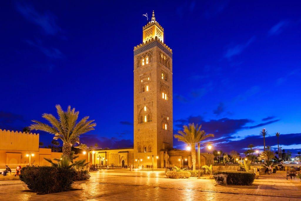 Koutoubia em Marrakech