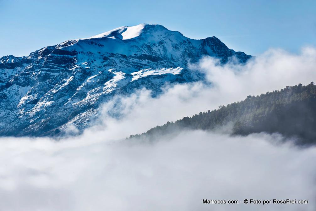 Montanhas do Atlas em Marrocos