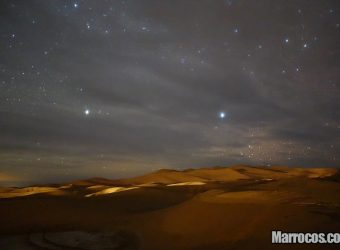 Noite no Deserto do Saara