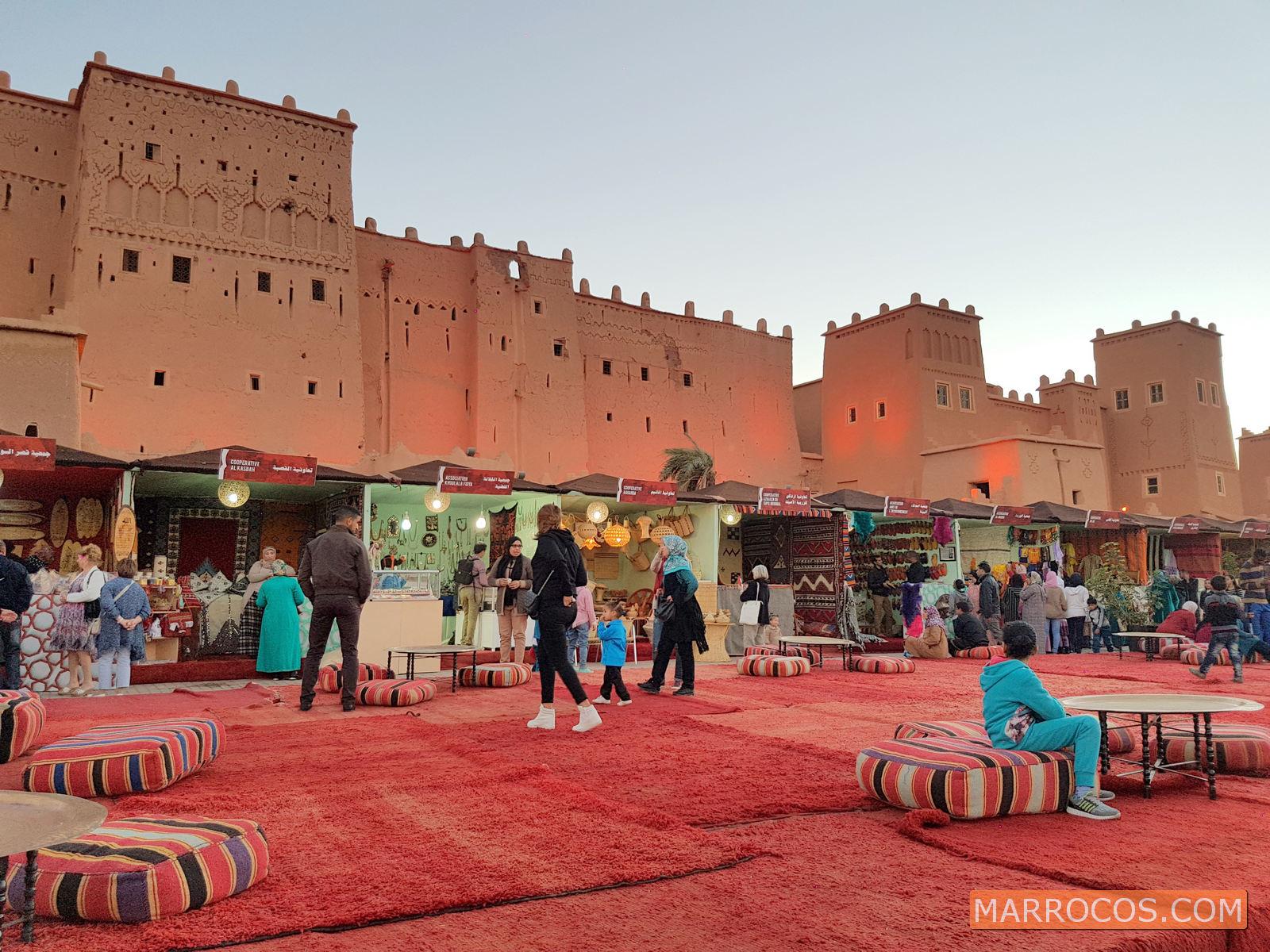 Cidade de Ouarzazate em Marrocos