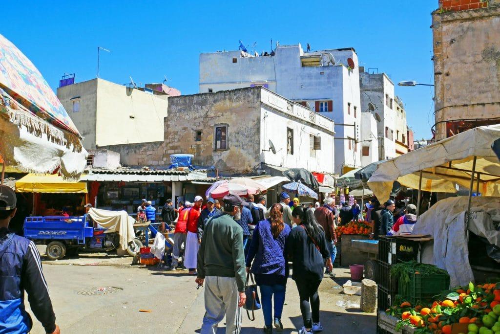 Onde fazer compras em Casablanca