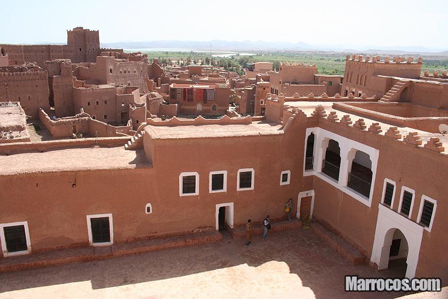 Casbá de Taourirt em Ouarzazate