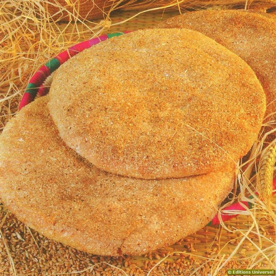 Pão marroquino tradicional