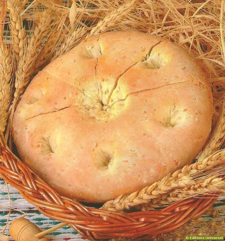 Receitas de Pão Marroquino Pao Marroquino Festivo Marrocos Culinária em Marrocos