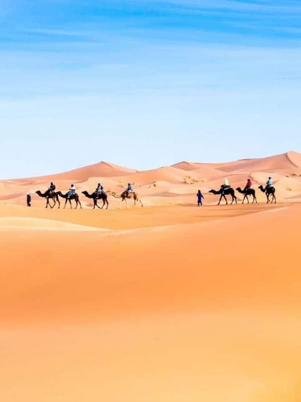 Passagem de Ano no Deserto de Marrocos