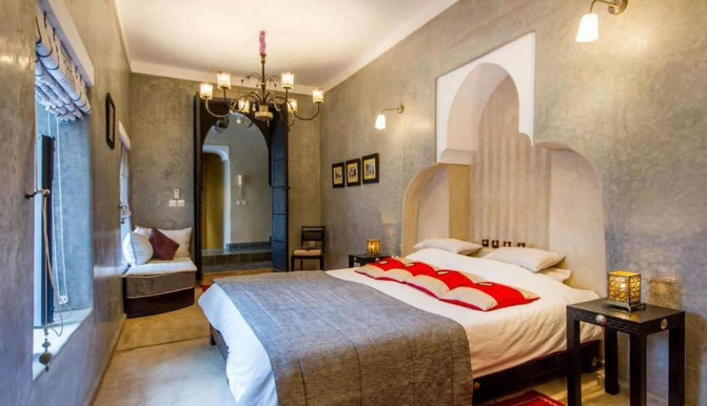 Hotel estilo Riad na cidade de Marraquexe