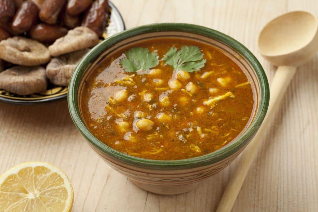 Receita de sopa marroquina Harira