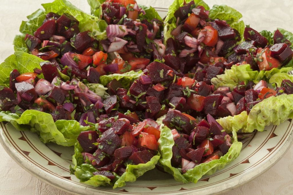 Receita de salada marroquina com beterraba