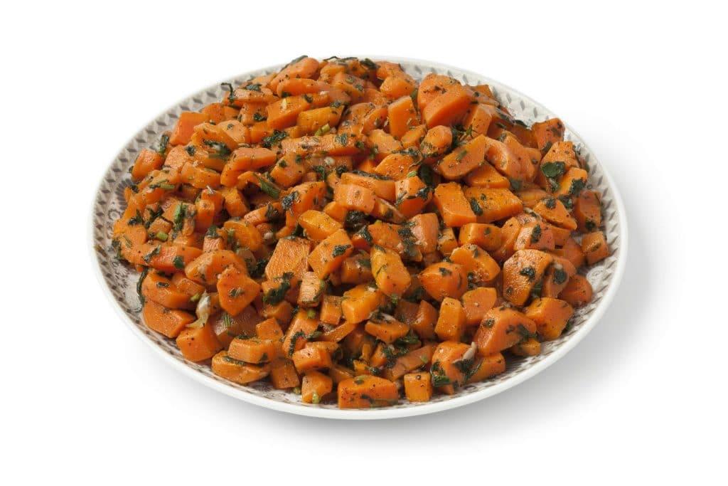 Receita de salada marroquina com cenoura