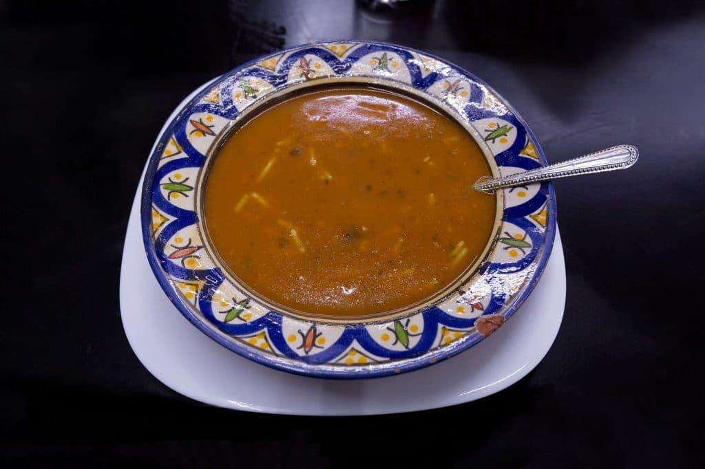 Receita de sopa marroquina de carne