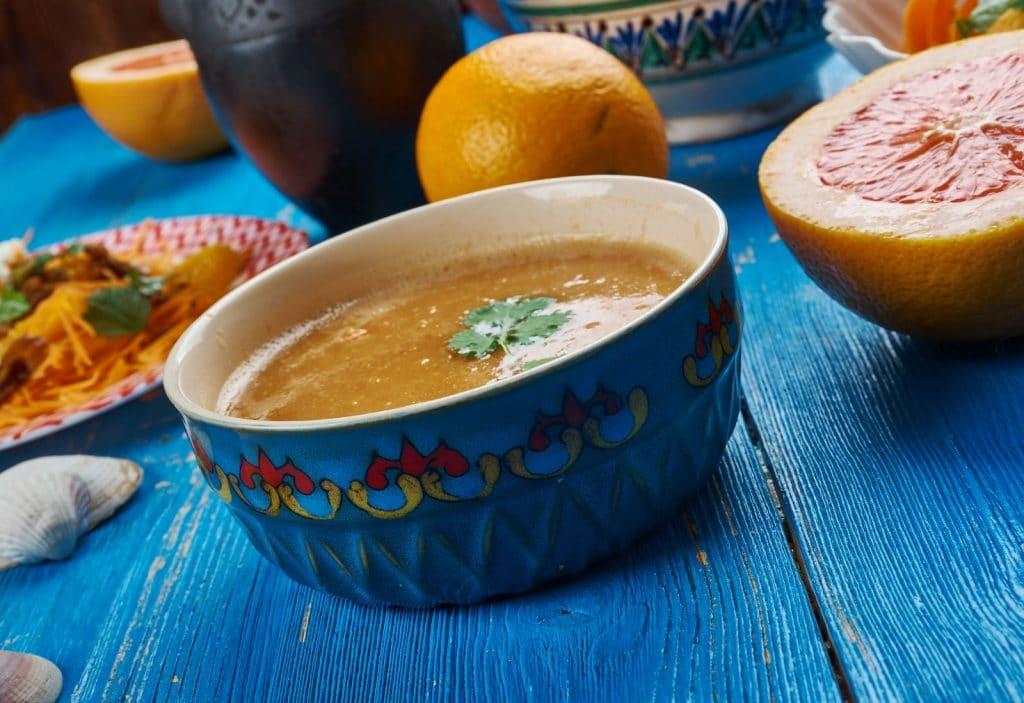 Receita de sopa marroquina de peixe