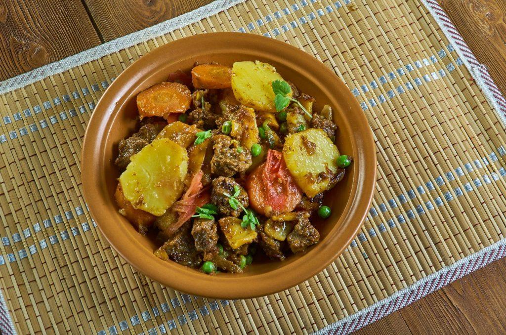 Receita de tagine de cordeiro com batatas