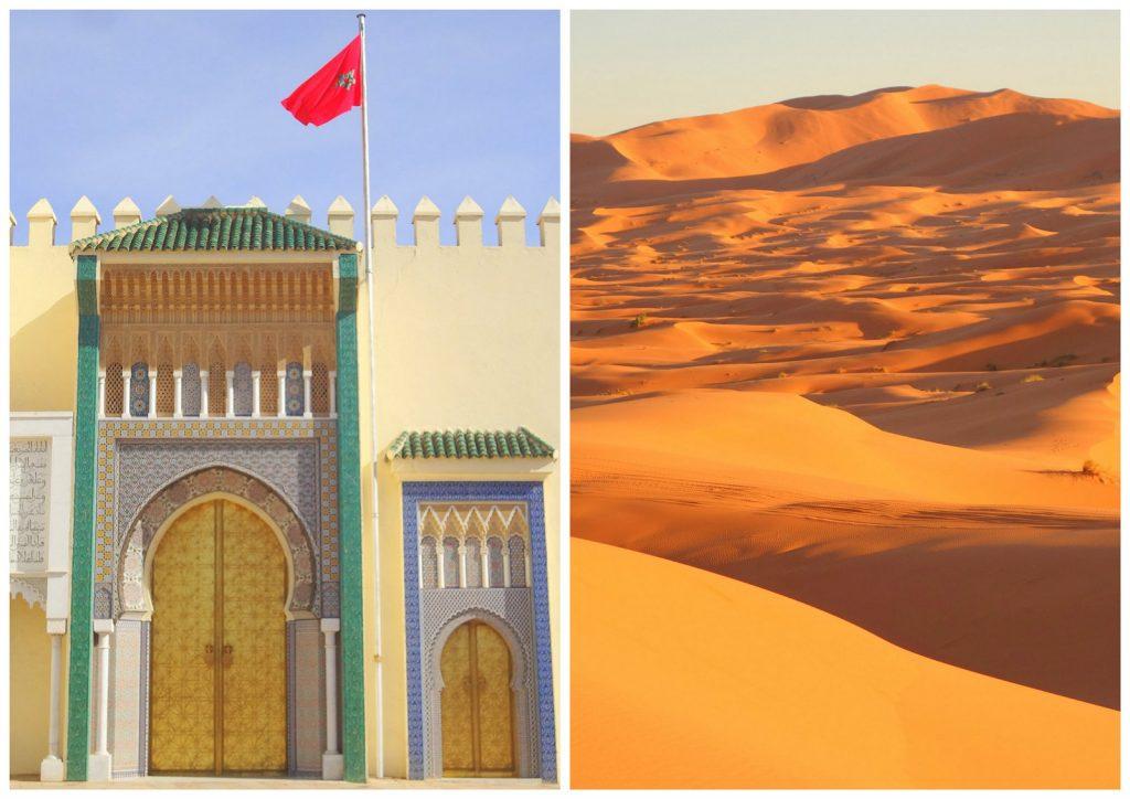 12 dias 835€ » Viagem de Grupo: Deserto + Cidades Imperiais + Chefchaouen