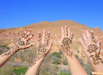 Tatuagem de Henna Marrocos
