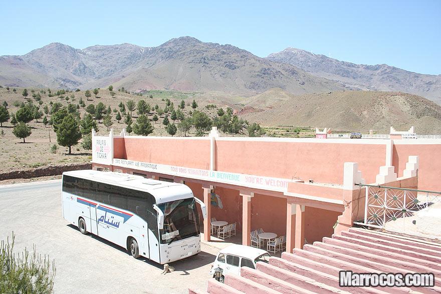 Viajar de autocarro / ônibus em Marrocos