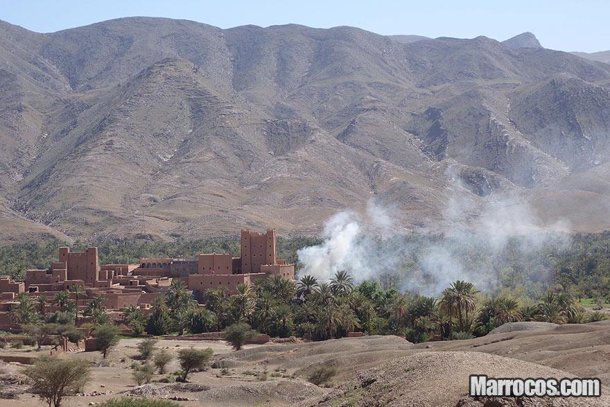 Vale do Draa em Marrocos