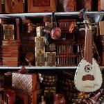 Artesanato marroquino em madeira