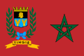 Bandeira da cidade de Tânger Internacional