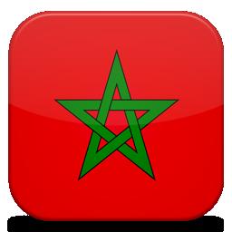 A Bandeira de Marrocos através da história