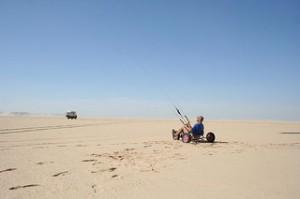Deserto de Dakhla em Marrocos