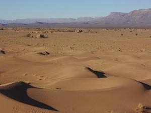 Dunas de Tinfou em Marrocos